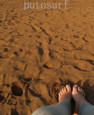 Mis pies hoy