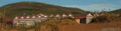Casetas en panoramica