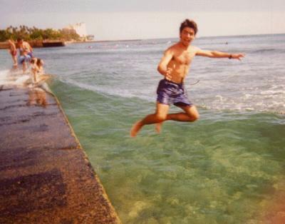 El infierno y Edu en Hawaii
