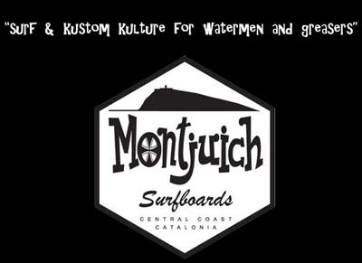 Montjuich SurfBoards sponsor